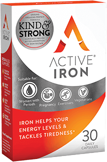 Active Iron - Non constipating iron tablets for women and men