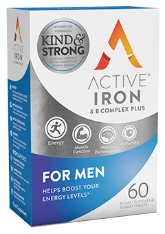 Active Iron & B Complex Plus for Men
