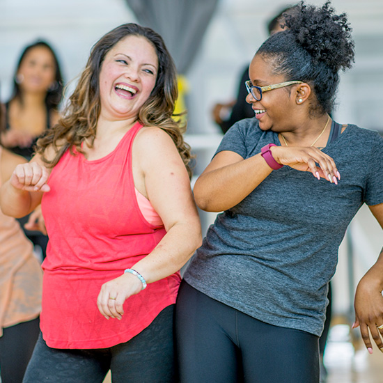 Active Iron for staying healthy with friends -dancing