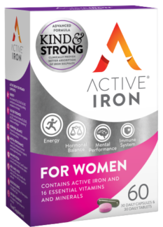 Active Iron and b complex plus for women - Active Iron For Women with multivitamins