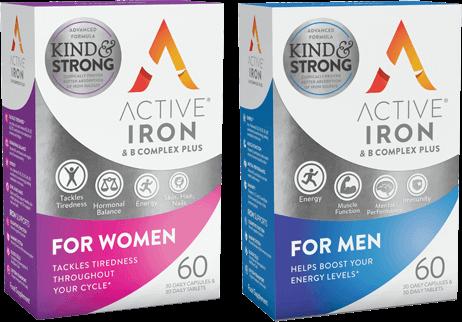 Active Iron B Complex+ for Women & Men