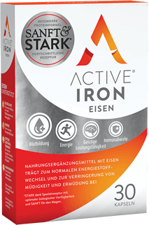 Active Iron 30 daily capsules for energy levels