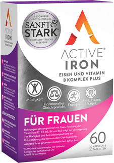 Active Iron b complex plus women product